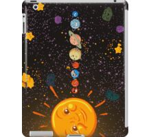 Solar System Funny Planets iPad Case / iPhone 5 Case / iPhone 4 Case  / Samsung Galaxy Cases  iPad Case/Skin
