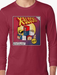 X-Blocks Box Long Sleeve T-Shirt