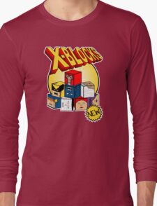 X-Blocks Logo Long Sleeve T-Shirt