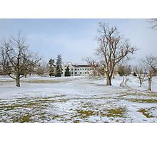 Centre Family Dwelling - Shaker Village Photographic Print