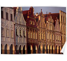 Telc Sunset Poster