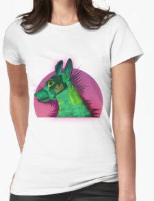 Tilda the best dog Womens Fitted T-Shirt