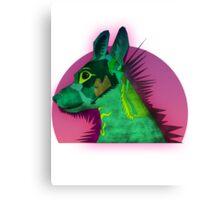 Tilda the best dog Canvas Print