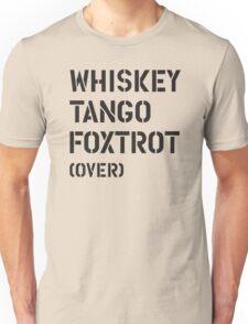 WTF (over) Unisex T-Shirt