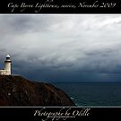 Cape Byron Light at sunrise, Nov 2009 by Odille Esmonde-Morgan