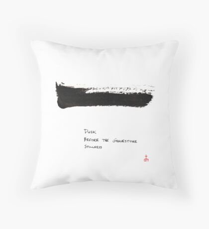 HAIGA XIX  Throw Pillow