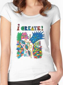 i Create On Track Women's Fitted Scoop T-Shirt