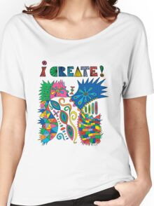 i Create On Track Women's Relaxed Fit T-Shirt