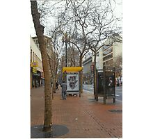 A Street In San Francisco Photographic Print