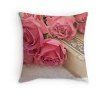 Like a red, red rose Throw Pillow