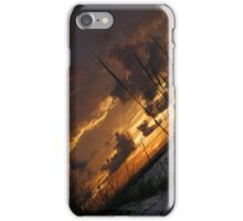 Clearwater, FL sunset iPhone Case/Skin