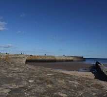 St Andrews Harbour - Pier Walk, Fife by Katherine Case