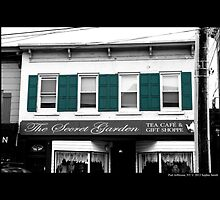 The Secret Garden Tea And Coffee Shop - Port Jefferson, New York by © Sophie W. Smith