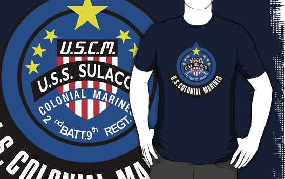 USCM SULACO PATCH by superedu