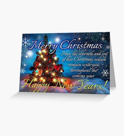 christmas scene 1 Greeting Card