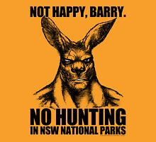 NOT HAPPY BARRY Unisex T-Shirt