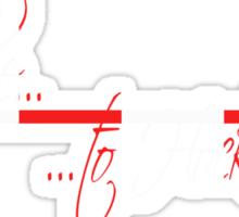 Red Line To Hockenheim Sticker
