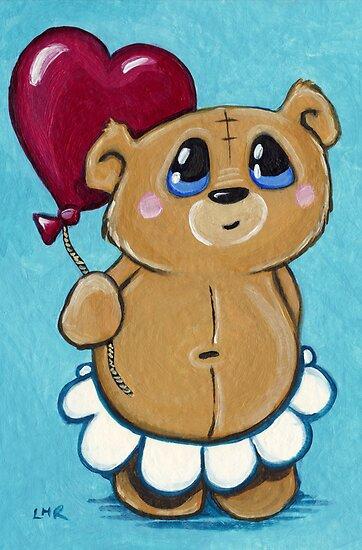 Honey Loves Balloons by Lisa Marie Robinson