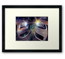 Audi s3 & Volkswagen gti Framed Print