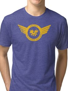 Air Tails Helicopter Tours Tri-blend T-Shirt