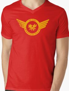 Air Tails Helicopter Tours Mens V-Neck T-Shirt