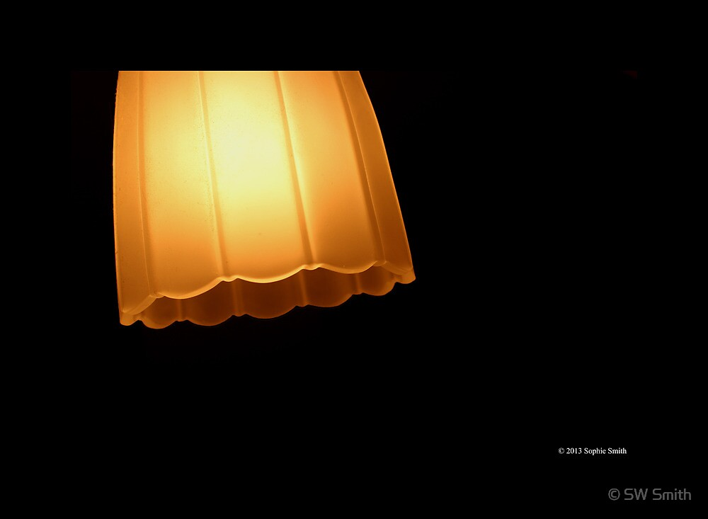 Glass Lampshade  by © Sophie W. Smith