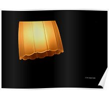 Glass Lampshade  Poster