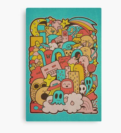 Doodleicious Canvas Print