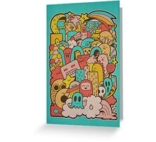 Doodleicious Greeting Card