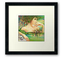 The Emerald Lake Framed Print