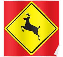 Rudolph Crossing Poster