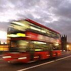 Red Bus and Big Ben by csajos