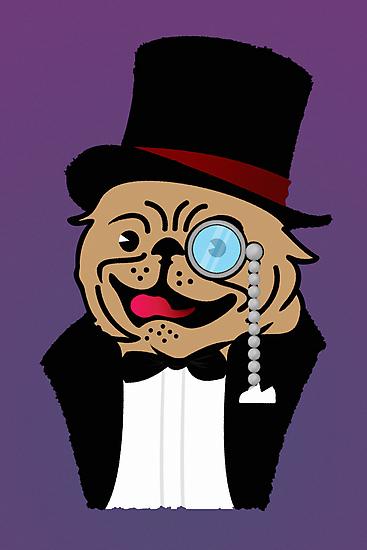 Sir Pug by vivendulies