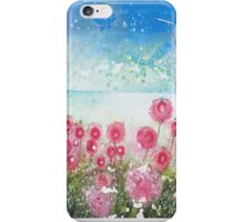 Sea pink (butterflies meet in jetstream) iPhone Case/Skin