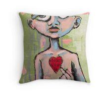 Heart (brainstemming.com) Throw Pillow