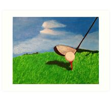 Fore ! Art Print