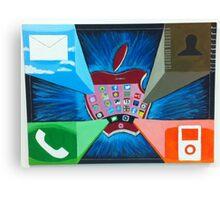 Apple IPhone 3D Canvas Print