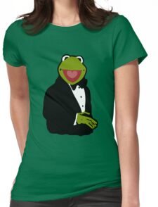 Classy Kermit Womens Fitted T-Shirt