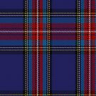 00491 Lanyard Blue Tartan Fabric Print Iphone Case by Detnecs2013