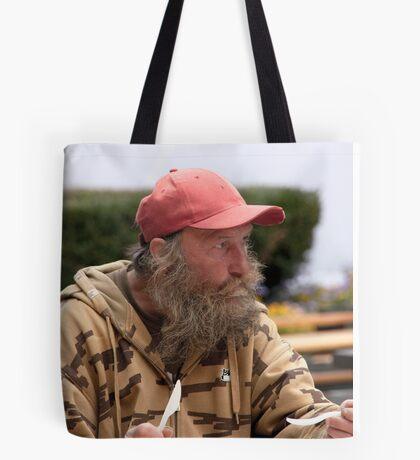 Red Cap Tote Bag