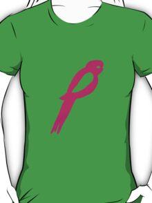 Rosella print pink T-Shirt