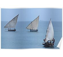 The Dhows of Zanzibar Poster
