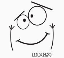 Hugs? by John Saldana