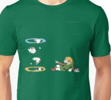Zelda and Portals Unisex T-Shirt