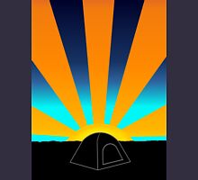 Sunrise Over A Tent Hoodie