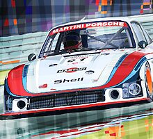 Porsche 935 Coupe Moby Dick Martini Racing Team by Yuriy Shevchuk