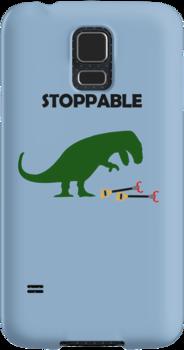 Stoppable T-Rex by jezkemp