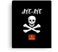 iAye-Aye Canvas Print
