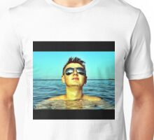 Taking in the sun..... Unisex T-Shirt