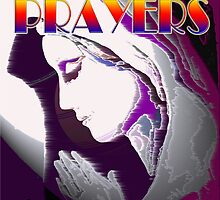 OUR PRAYERS ARE WITH YOU by Jon de Graaff